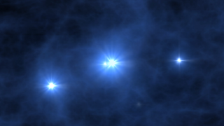 Top Image from Universe Evolution animation: Birth of the First Stars