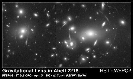 HST Image of a Gravitational Lens
