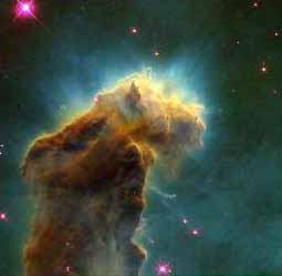 HST Image of Star Birth Clouds