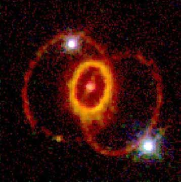 HST Image of Supernova Remnant