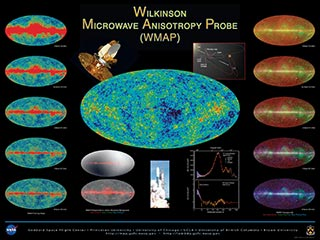 WMAP 2002 Poster A side - instrument channel images